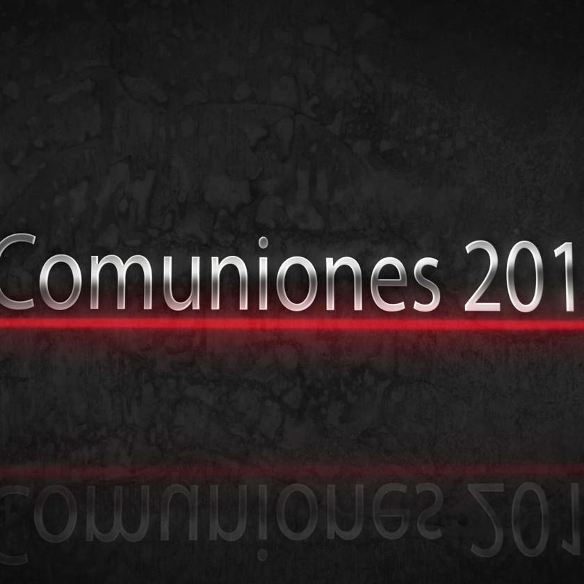 Comuniones 2015
